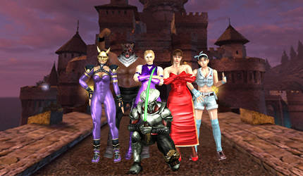 tekken tag tournament, group PIC
