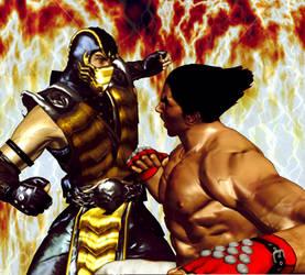 Scorpion VS Kasuya