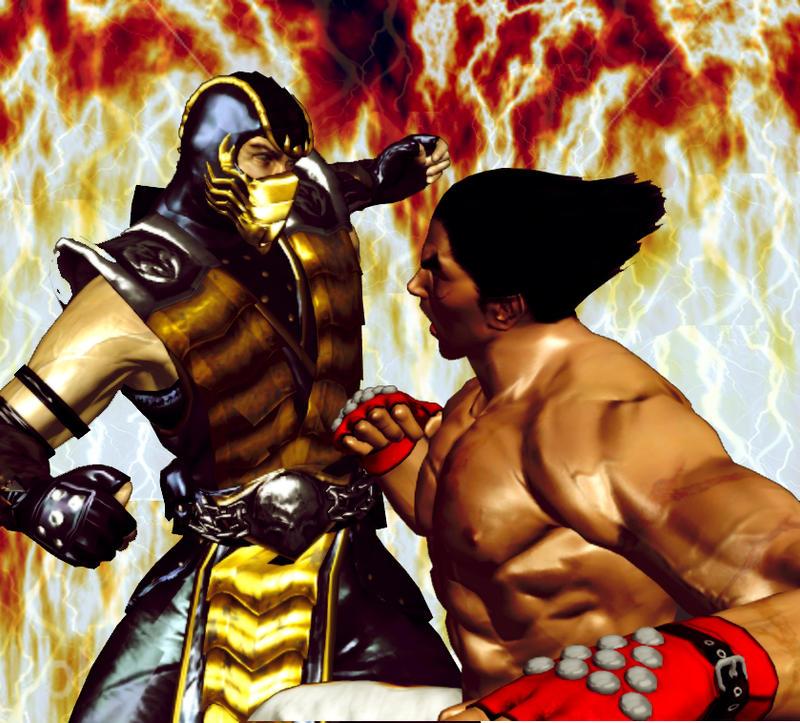 Scorpion VS Kasuya by karadaniano