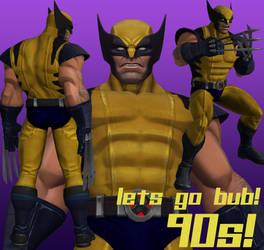 Wolverine 90s (Retexture) for xnalara