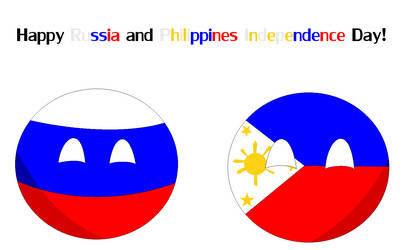 Happy Russia and Philippines Independence Day!