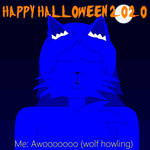 Halloween Icon with text