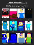 VincentBit's 2020 Summary of Art