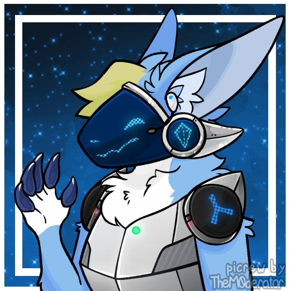 Robot Anthro Wolf Vincent (Picrew)