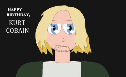 Happy (LATE) Birthday, Kurt Cobain