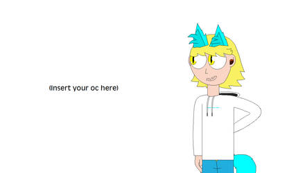 Me meeting (your oc)