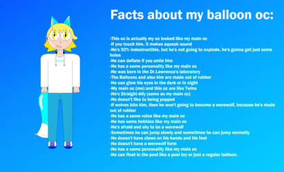 20 facts about my balloon oc