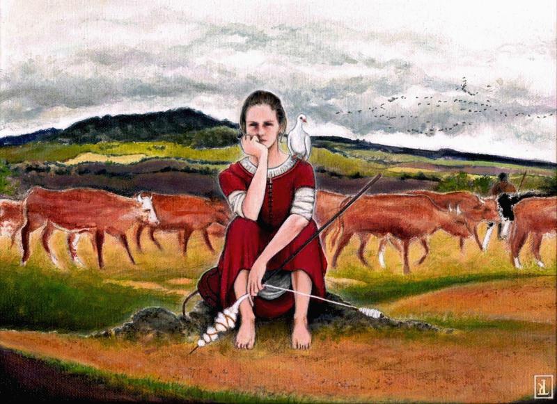 Joan's struggle by KetsiaLessard