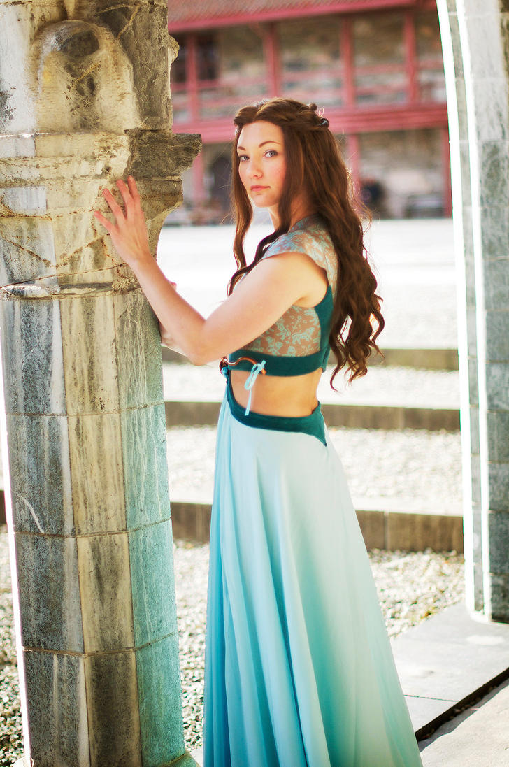 Margaery Tyrell, Green Lions dress, 7 by Santatory