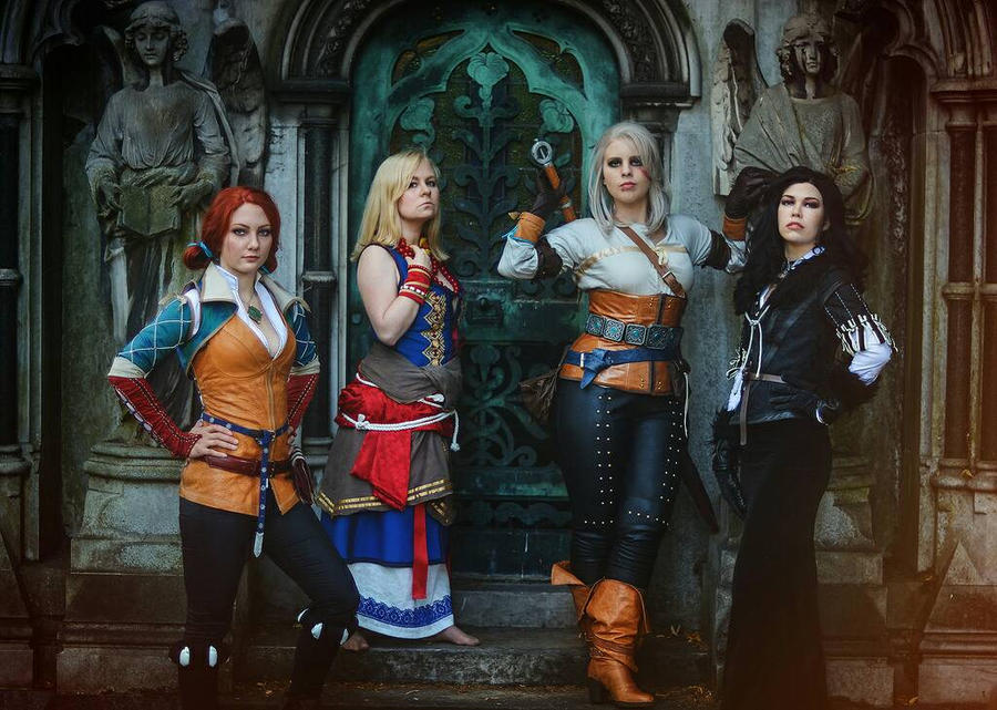 Our witcher cosplay group  by Santatory