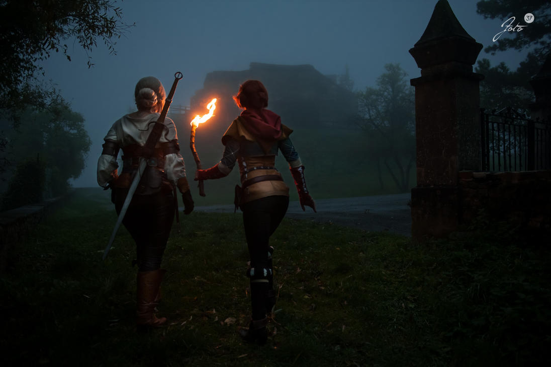 The Witcher photoshoot preview 2 by Santatory