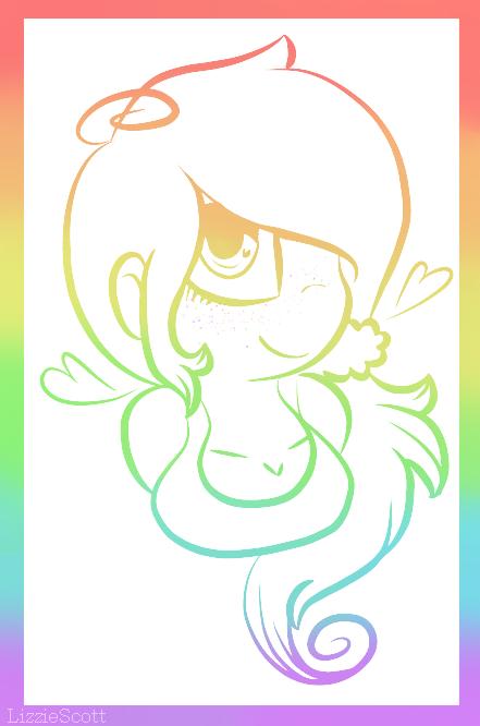 Rainbow Meeee~ by LizzieScott