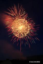Fireworks III by friedapi