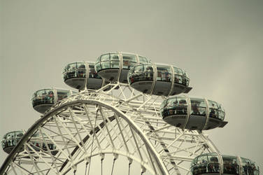 London Eye by friedapi