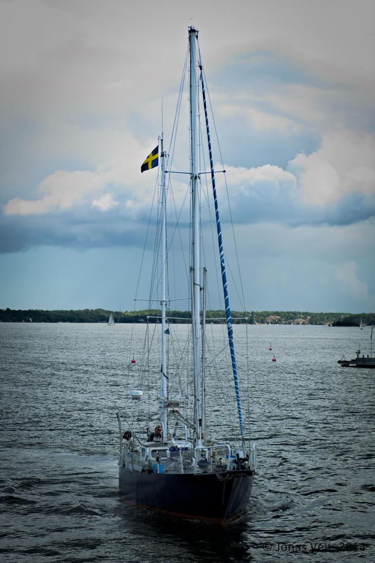 Sailing by friedapi