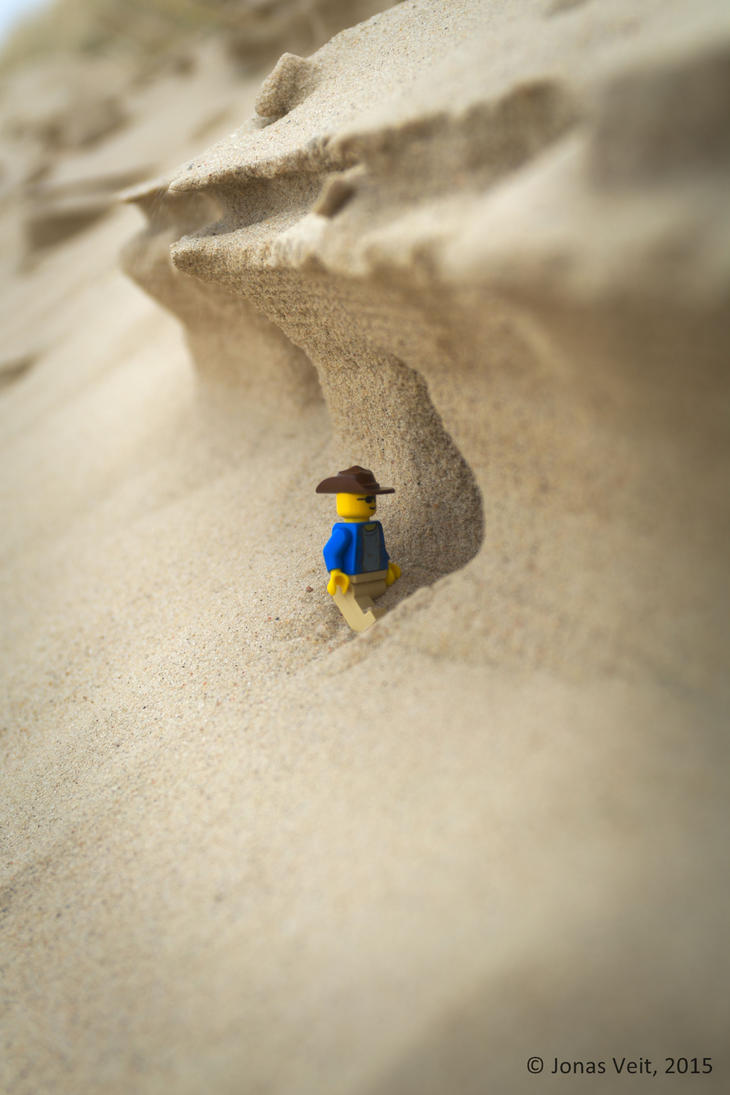 Lego in the Dunes by friedapi