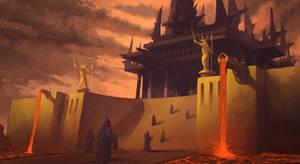 The Dark Temple by KlausPillon