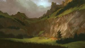 Cavern by KlausPillon