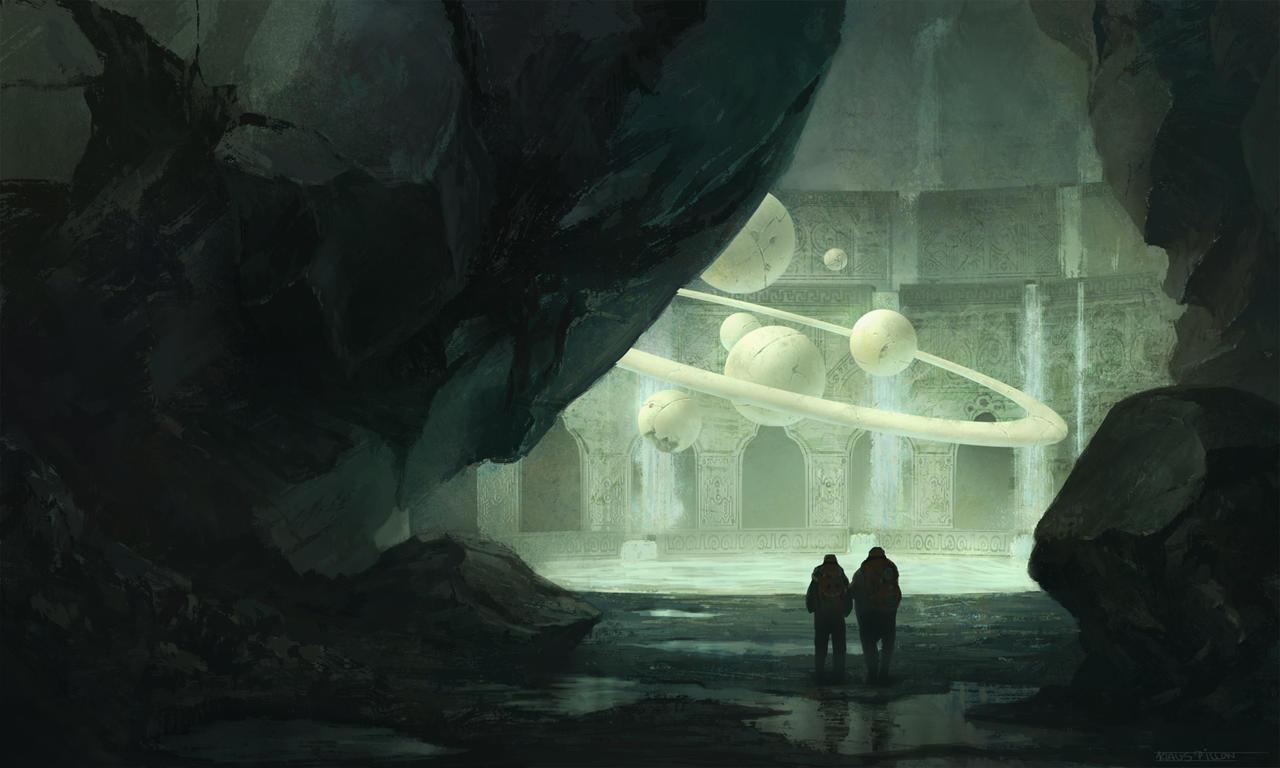 Nostradamus's Cave by KlausPillon