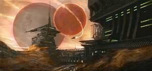 Sci-Fi SpeedPaint by KlausPillon
