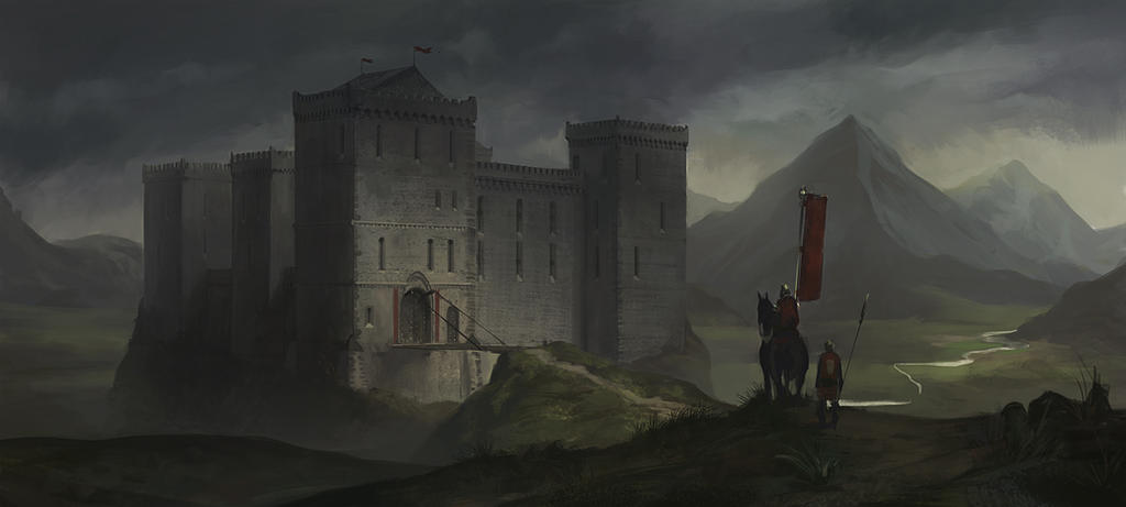 Castle Concept by KlausPillon