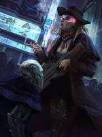 CyberWestern by KlausPillon