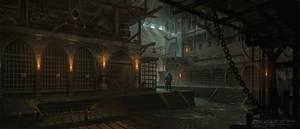 Acaratus Concept art - Prison -