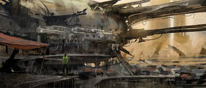 Speedpainting - Wreckage Dwelling -