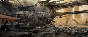 Speedpainting - Wreckage Dwelling -