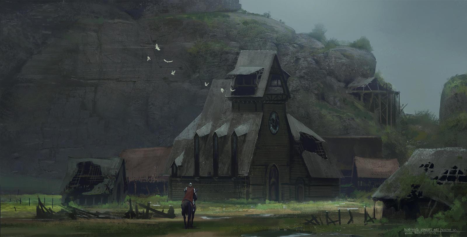 Acaratus Concept Art - Nodian Wasteland -