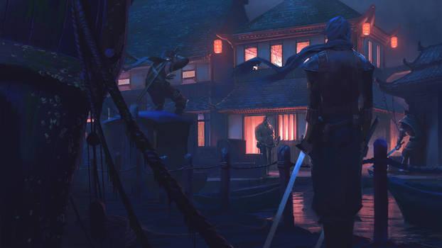Docks Evil Fight