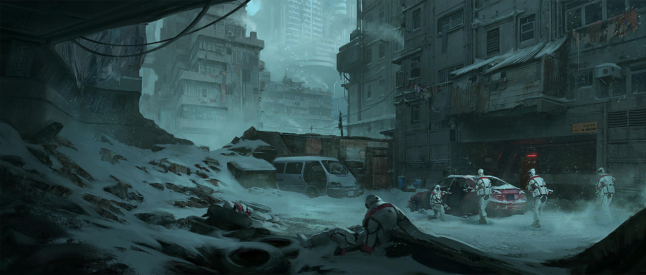 Awesome Digital Graffiti #2: Dystopia___infiltration___by_klauspillon-d8v1nej.jpg