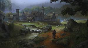European Medieval Village