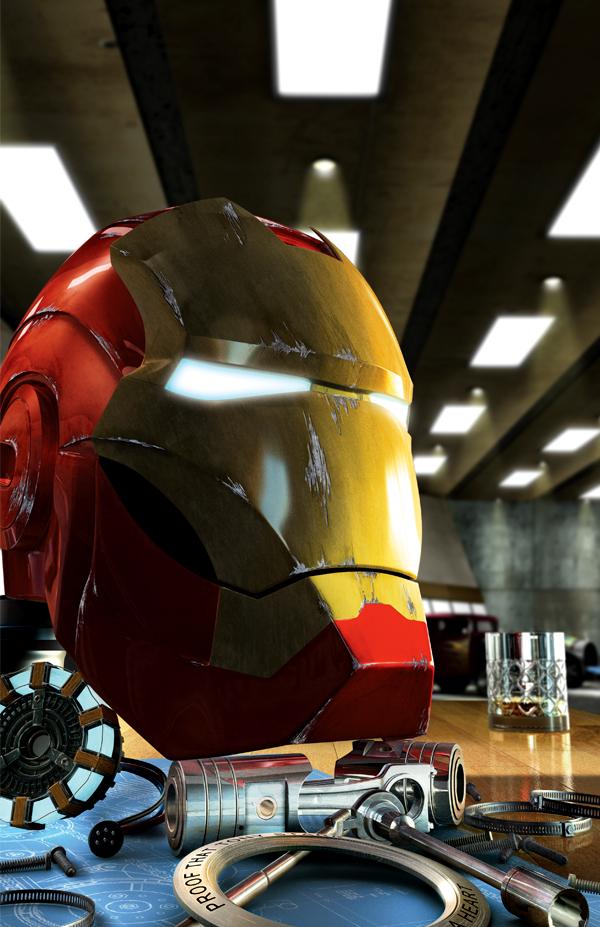 Iron Man's Helmet by Iconograph