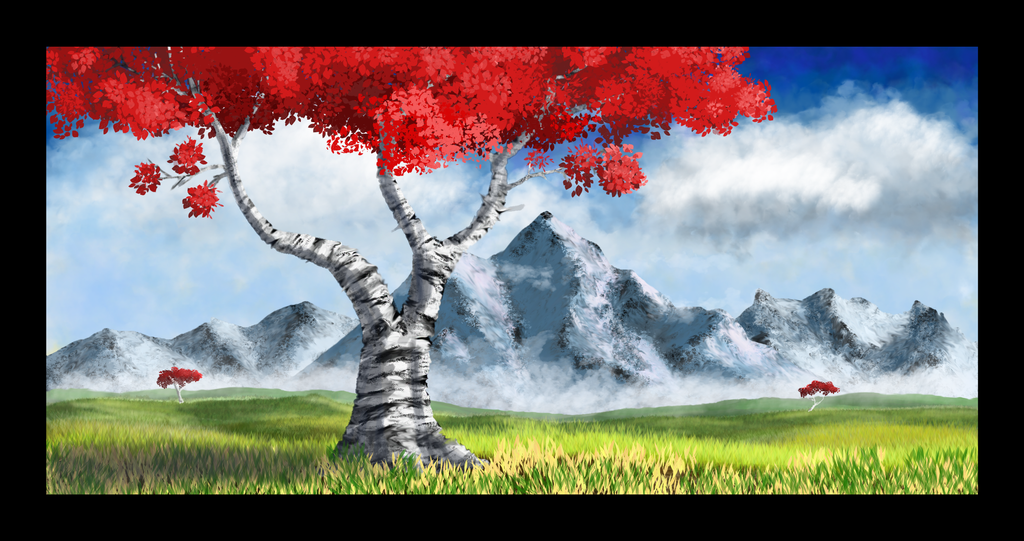 Resting Tree Realism by Sches