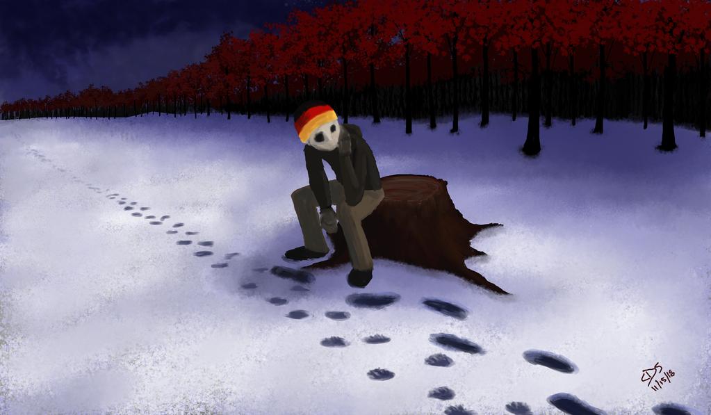 Wolf Gone by Sches