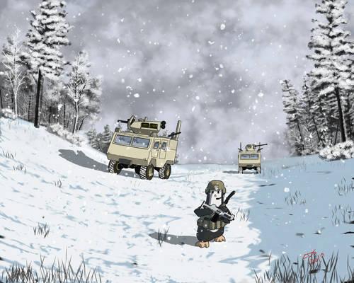 Pengu Winter Patrol