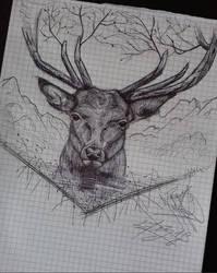 Deer (2018) by basgroll