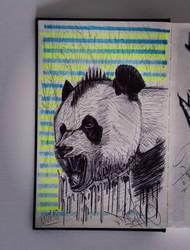 Rebel Panda by basgroll