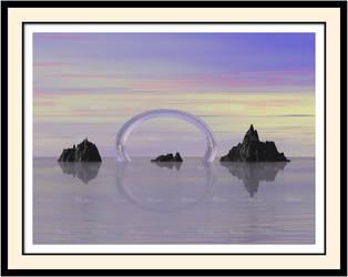 Glass Arch by LaxmiJayaraj