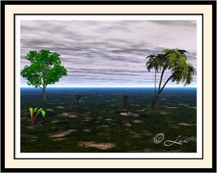 Trees n Grass by LaxmiJayaraj