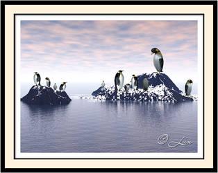 Penguins by LaxmiJayaraj