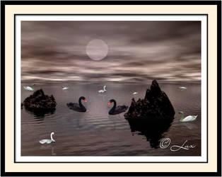 Moon Lake by LaxmiJayaraj