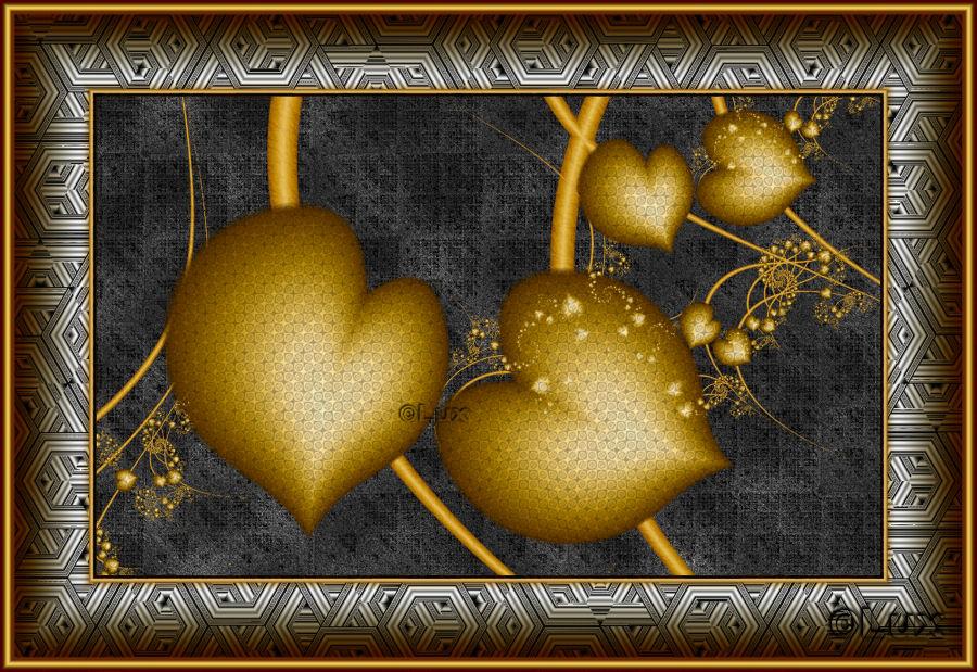 Hearts Of Gold by LaxmiJayaraj
