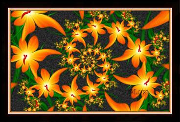 Back to Flowers by LaxmiJayaraj