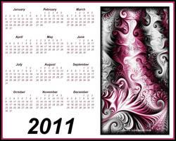 Fractal Calendar 2011 by Lux.