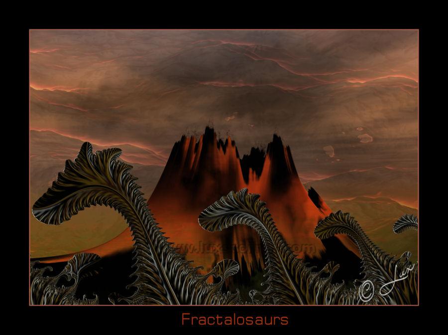 Fractalosaurs by LaxmiJayaraj