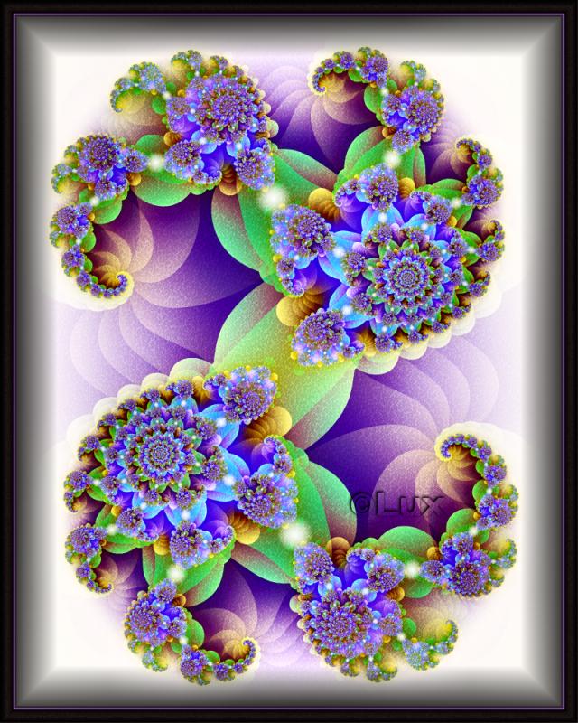 Purple Blur by LaxmiJayaraj