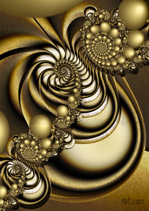 Reclining Spirals... by LaxmiJayaraj