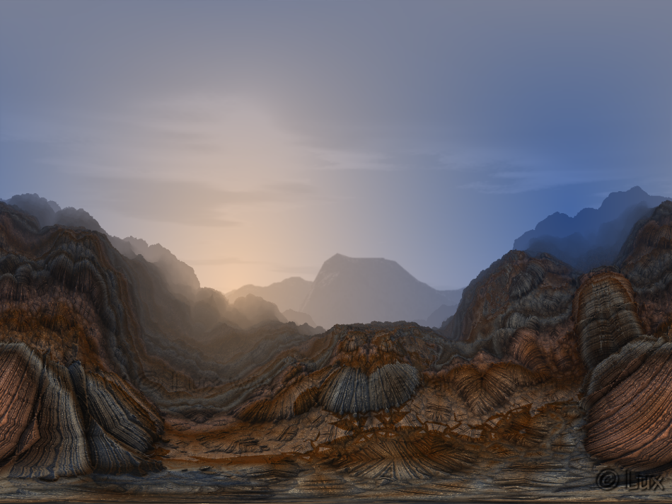 Fractal Utah Mountains by LaxmiJayaraj